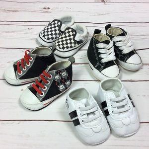 Baby Boy Girl Infant 0-3 Month Bundle Shoe Lot